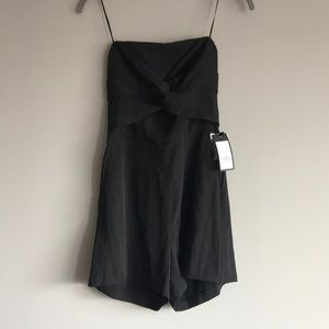 Romper with front twist